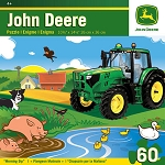 John Deere 60-Piece Puzzle - Morning Dip - LP53803