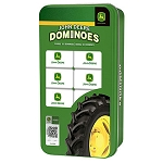 John Deere Dominoes Double 6 Game in Collector Tin - LP66629