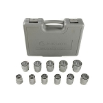 John Deere 3/4-inch Drive 11-piece Metric Socket Set - TY19986
