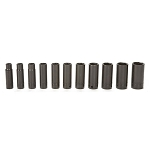 John Deere 1/2-inch Drive 11-piece Deep Well Impact Socket Set - TY24363
