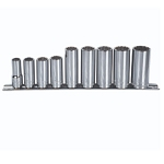 John Deere 3/8-inch Drive 9-piece Metric Deep Well Socket Set - TY27808