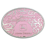 Montana Silversmiths John Deere Farmers Daughter Belt Buckle - LP23089