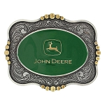 John Deere Scalloped Logo Attitude Belt Buckle - LP68089