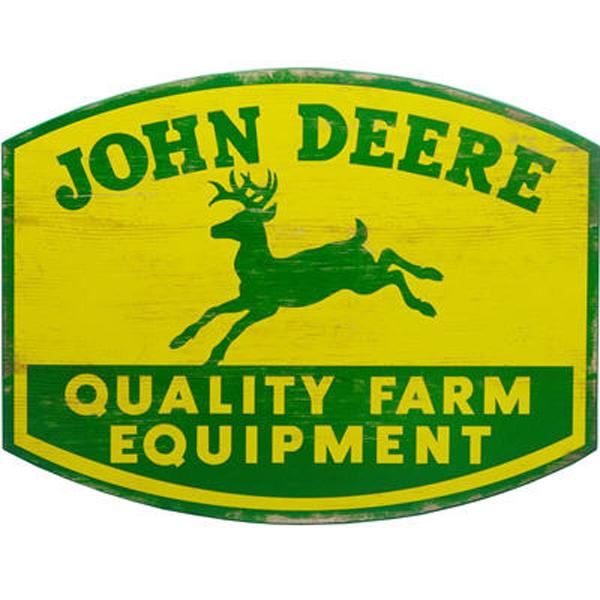 John Deere Gifts >> John Deere Quality Farm Equipment Sign - LP67211