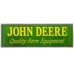 John Deere Quality Farm Equipment Tin Sign - LP67206