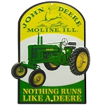 John Deere Nothing Runs Like a Deere Sign - LP67208