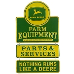 John Deere Farm Equipment Linked Tin Sign - LP67210