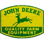 John Deere Quality Farm Equipment Sign - LP67211
