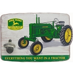 John Deere Tractor Sign with Bottle Opener - LP67212