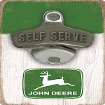 John Deere Self Serve Bottle Opener  - LP70628