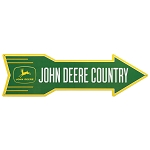 John Deere Country Metal Arrow Sign - LP71670