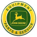 John Deere Equipment Metal Sign - LP71674