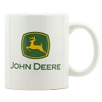 John Deere Logo Ceramic Coffee Mug - LP71684