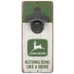 John Deere Nothing Runs Like A Deere Bottle Opener  - LP75398