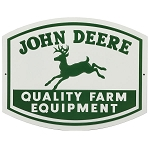 John Deere Quality Farm Equipment Metal Sign - LP75918