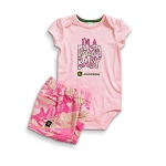 John Deere I'm A Farm Baby Infant Onesie and Short Set - JSGS005P1F1