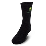 John Deere Boys Black Crew Socks - LP51853
