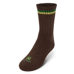 John Deere Boys Brown Crew Socks - LP51857 - LP51858