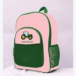 John Deere Pink and Green Backpack - SW61141
