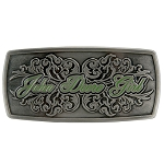 John Deere Girl Belt Buckle - LP51660