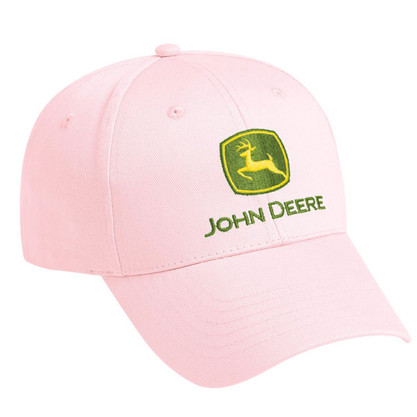09498f57 John Deere Ladies' Pink Trademark Cap - LP39526