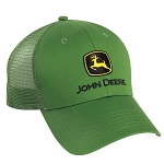 John Deere Green Cloth and Mesh Cap - LP39529