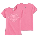 John Deere Ladies' Pink T-shirt - 140001