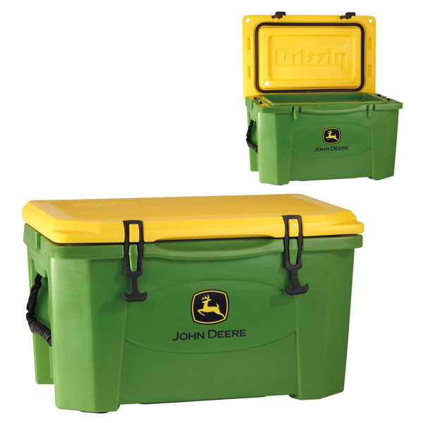John Deere Gifts >> John Deere Grizzly Roto 6-Day 40-Quart Cooler - 195019