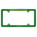 John Deere Nothing Runs Like a Deere License Plate Frame - JD06155