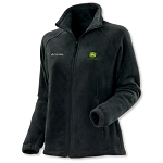 John Deere Ladies Columbia Brushed Black Fleece - JD06192