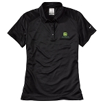 John Deere Women's Pebble Textured Polo - 216961