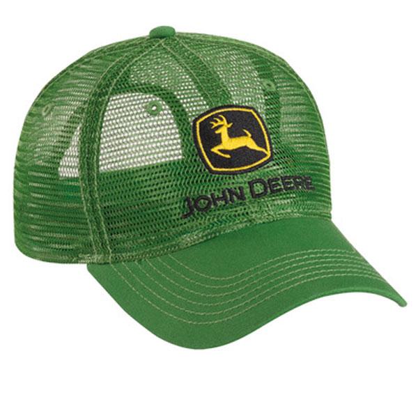 5da1a3224 John Deere Trucker All Mesh Green Cap - 249774