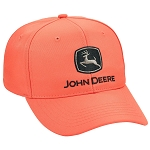John Deere Blaze Orange Chino Cap - LP69101