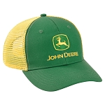 John Deere Green Chino Yellow Mesh Cap - LP69229