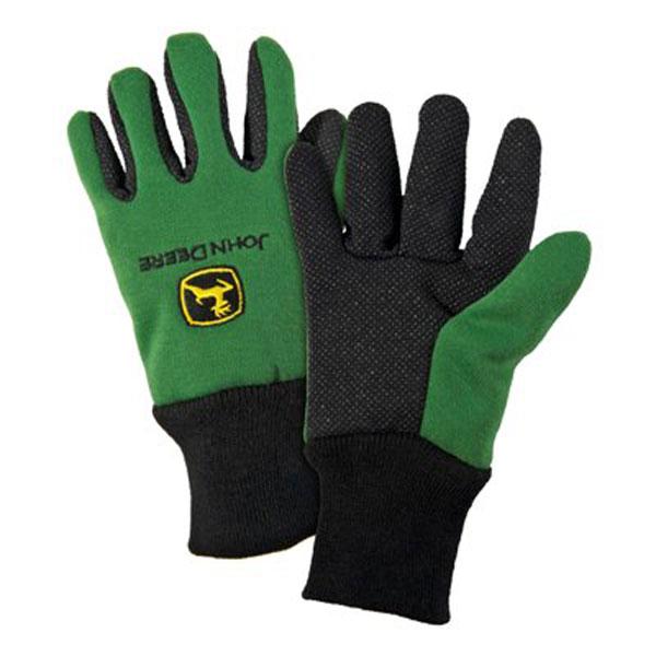 John Deere Gifts >> John Deere Youth Light-Duty Cotton Grip Glove - LP42386
