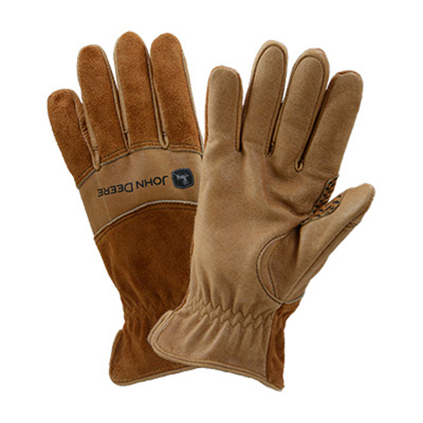 Nike Leather Gloves Jd: John Deere Men's Aqua Armour Leather Glove