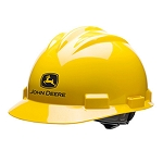 John Deere Yellow 4-Point Ratchet Hard Hat - LP67412