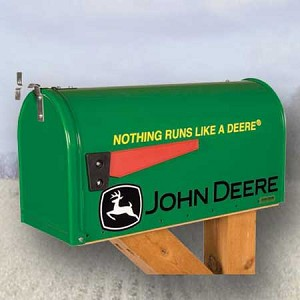 John Deere Nothing Runs Like a Deere Mailbox - RMB-JDRUNS