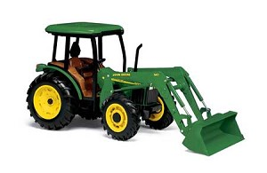 John Deere 1:16 5420 Tractor with Cab and Loader - 15357