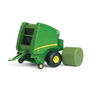 John Deere 1:32 scale Toy 569 Round Baler with Bale - TBE45435