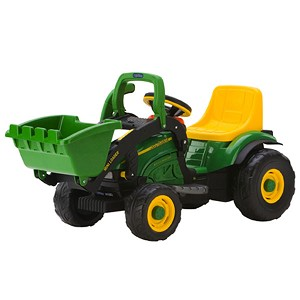 John Deere 6-Volt Mini Power Loader Tractor - TBEK46287