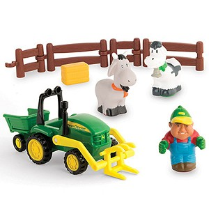 John Deere 1st Farming Fun Load Up Playset - LP53333