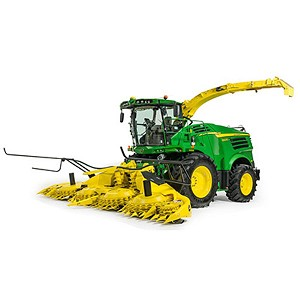 John Deere 1:32 scale 8600 Self Propelled Forage Harvester with Heads - LP53352