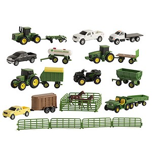John Deere 1:64 scale Vehicle Value Set Assortment - LP64813