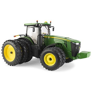 John Deere 1:16 scale Prestige Collection 8400R Replica Tractor with Triples - LP66180