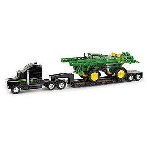 John Deere Dealer Semi with 1:64 scale R4038 Sprayer - 45612