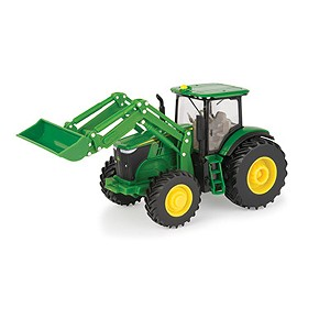 John Deere 1:32 scale 7270R Toy Tractor with Loader - 46632