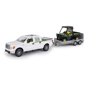John Deere 1:16 scale Big Farm Pickup and Gator Set - 46673