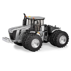 John Deere 1:32 scale Prestige Collection 9620R Silver Platinum YOTT Replica Tractor - 45646A