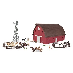 John Deere Farm Country Gable Barn Set - 46765